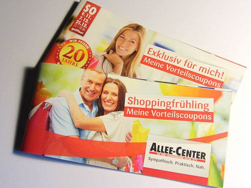 couponheft allee-center