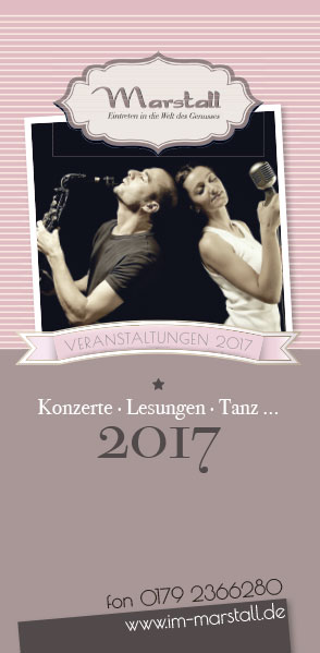 Flyer Veranstaltungen Marstall Neubrandenburg 01