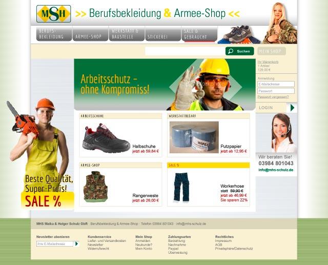 Onlineshop Webseitendesign LOGOMedia Werbung Neubrandenburg