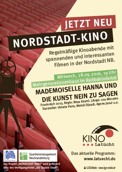 Flyer DINA6 Kino Mobil