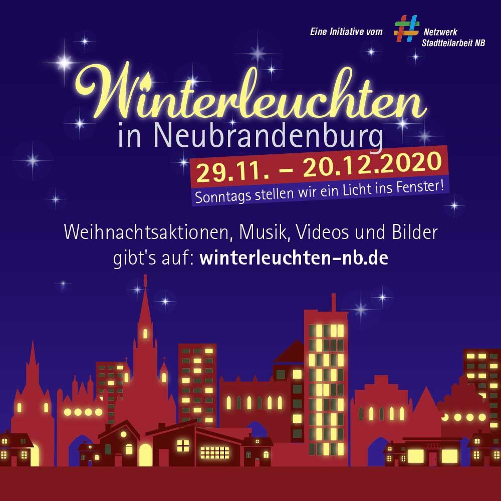 Winterleuchten in Neubrandenburg